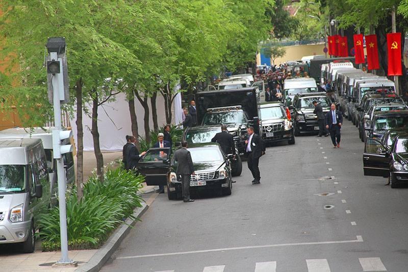 Tổng thống Obama kết thúc tốt đẹp chuyến thăm Việt Nam - ảnh 23