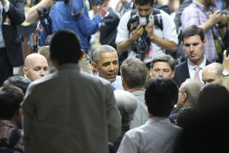 Tổng thống Obama kết thúc tốt đẹp chuyến thăm Việt Nam - ảnh 45