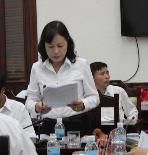 Chánh án Tối cao làm việc với TAND TP.HCM - ảnh 1