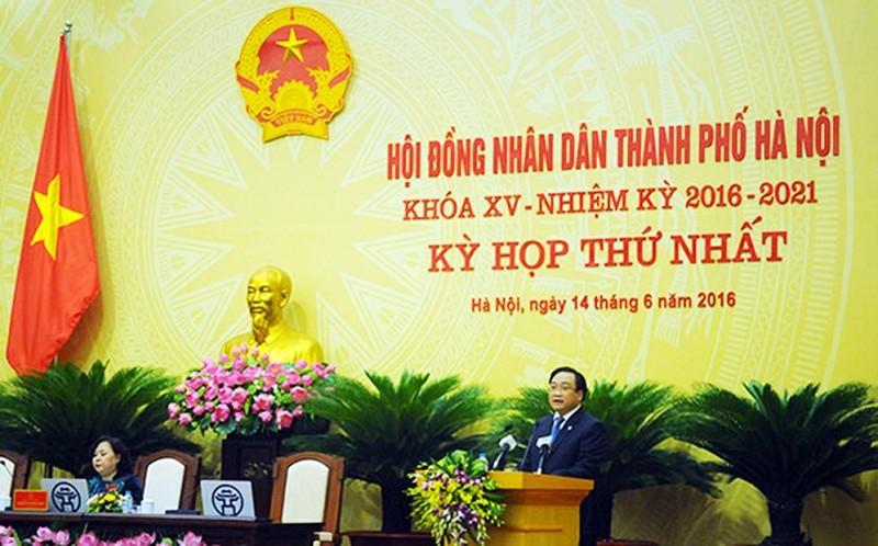Hà Nội bầu nhiều chức danh chủ chốt - ảnh 1
