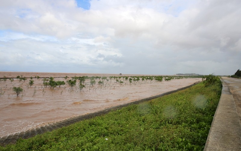Phó thủ tướng trực tiếp chỉ đạo cứu nạn giữa tâm bão số 1  - ảnh 4