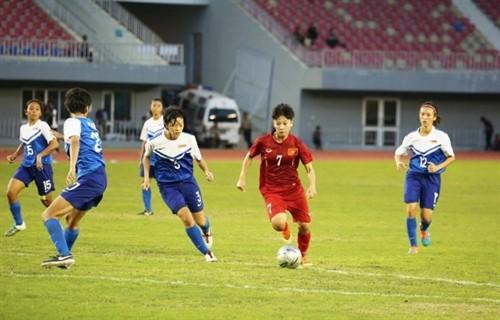 AFF Cup: Tuyển nữ Việt Nam giữ ngôi đầu bảng - ảnh 1