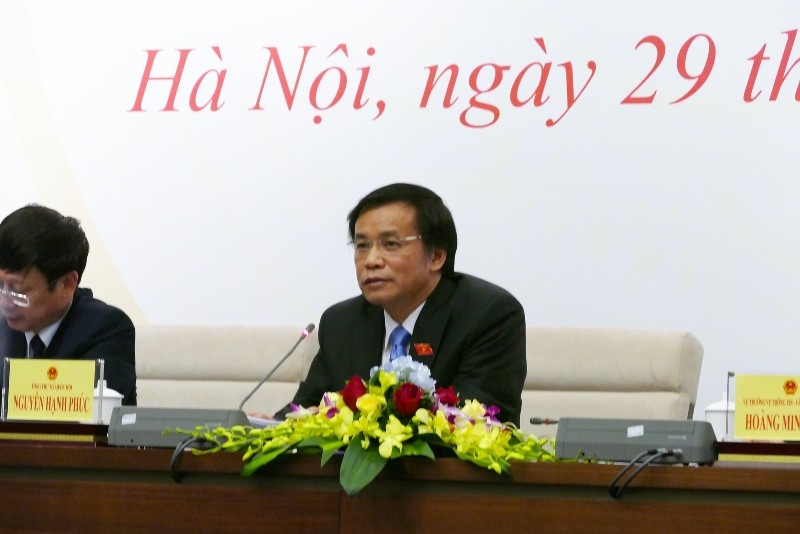 Tổng Thư ký QH: Bộ trưởng Trần Hồng Hà trả lời chưa rõ về Formosa  - ảnh 3