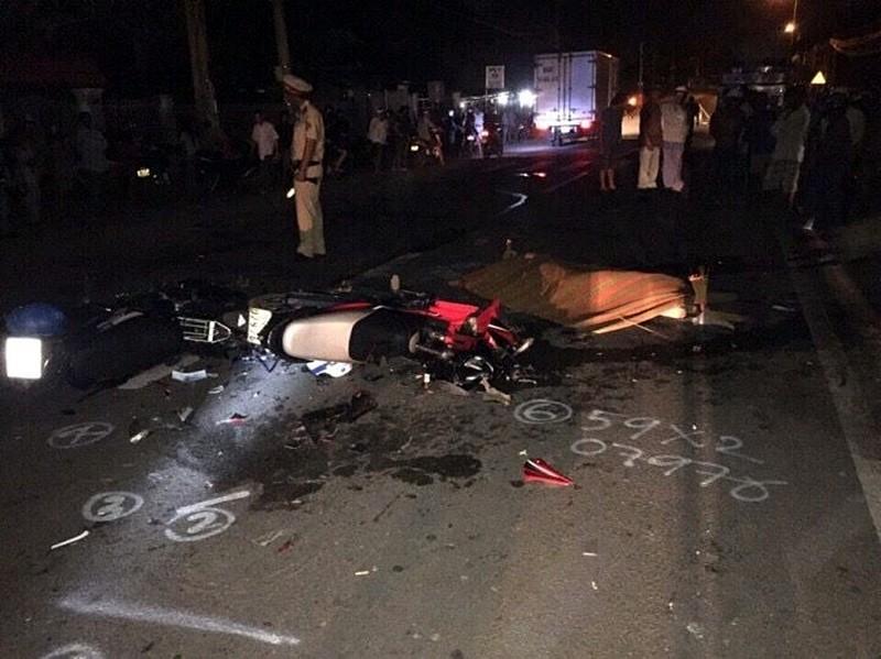 Tai nạn thảm khốc trong đêm, 3 người tử vong tại chỗ - ảnh 1