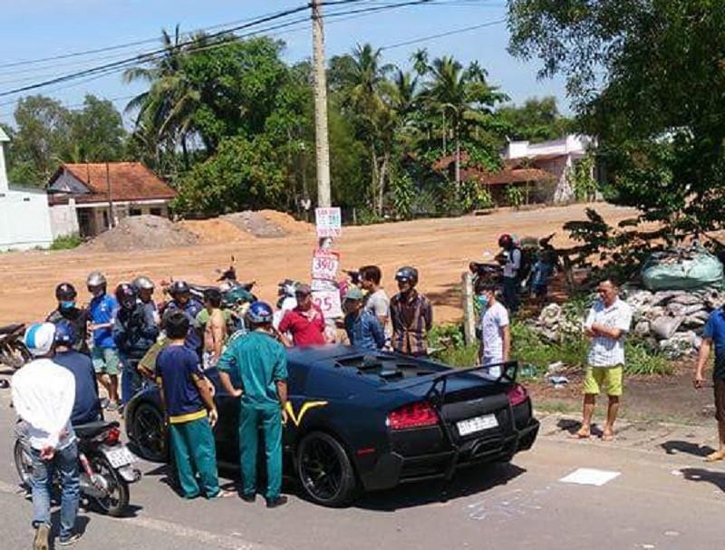 Thông tin mới vụ siêu xe Lamborghini tông chết người - ảnh 1