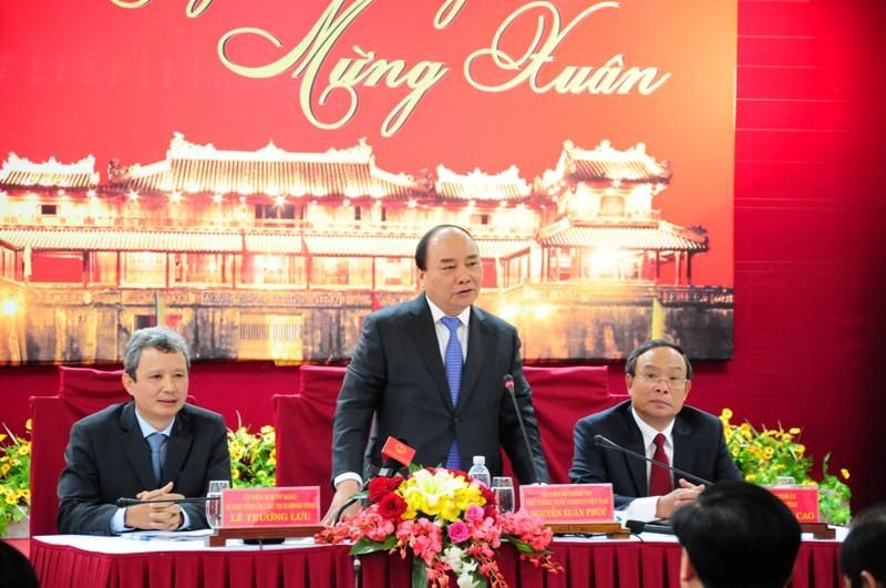 Thủ tướng thăm và chúc Tết tỉnh Thừa Thiên - Huế - ảnh 1
