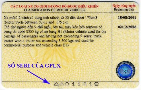 Cách kiểm tra giấy phép lái xe thật hay giả - ảnh 3