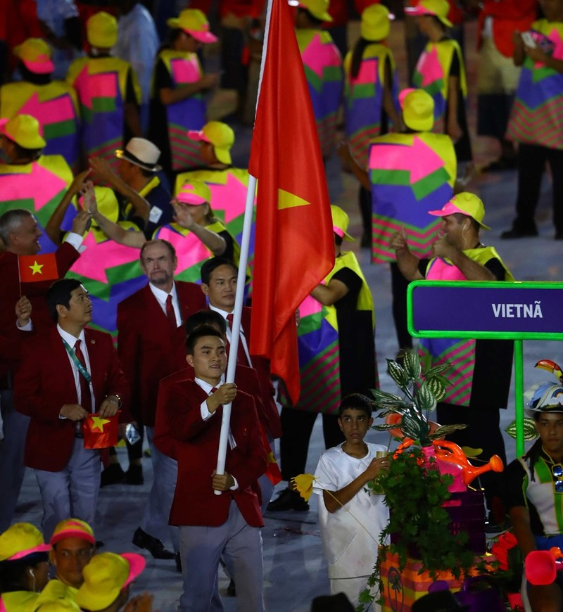 Chùm ảnh: Lễ khai mạc Olympic Rio diễn ra hoành tráng - ảnh 8