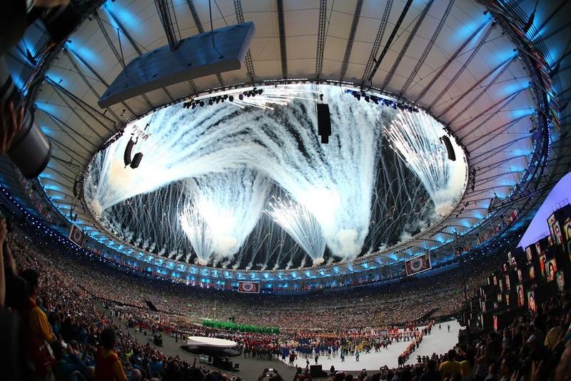 Chùm ảnh: Lễ khai mạc Olympic Rio diễn ra hoành tráng - ảnh 2