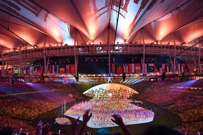 Chùm ảnh: Lễ khai mạc Olympic Rio diễn ra hoành tráng - ảnh 5