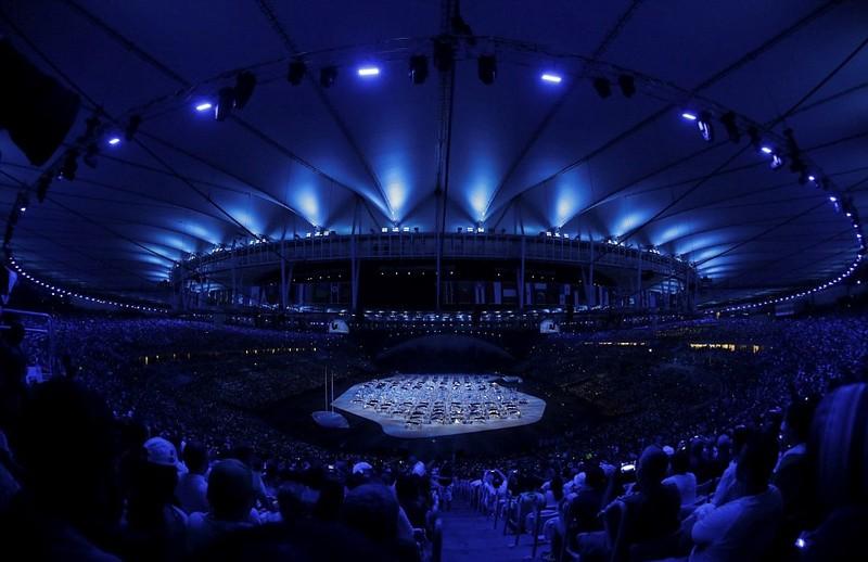 Chùm ảnh: Lễ khai mạc Olympic Rio diễn ra hoành tráng - ảnh 10