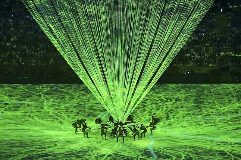 Chùm ảnh: Lễ khai mạc Olympic Rio diễn ra hoành tráng - ảnh 13
