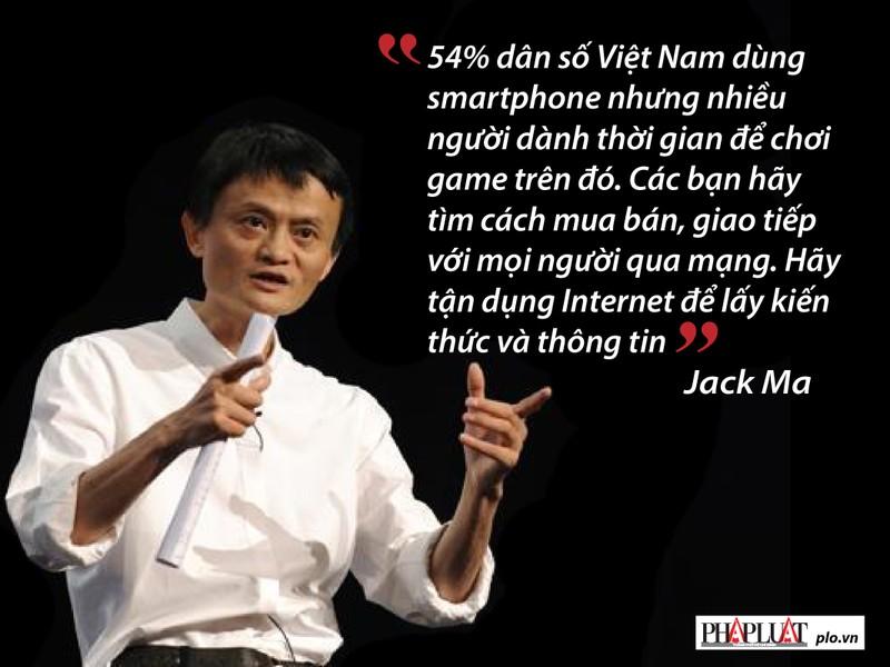 Jack Ma nhắn gửi gì với giới trẻ Việt Nam? - ảnh 4