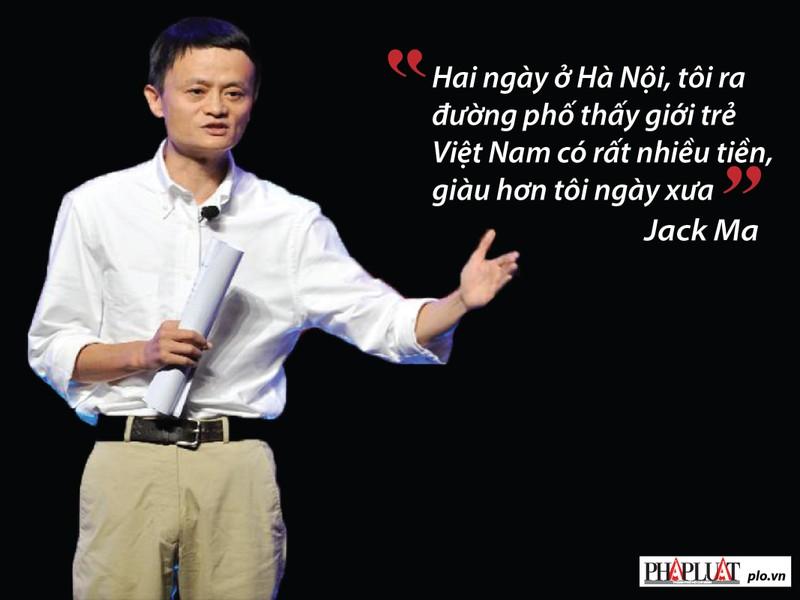 Jack Ma nhắn gửi gì với giới trẻ Việt Nam? - ảnh 3