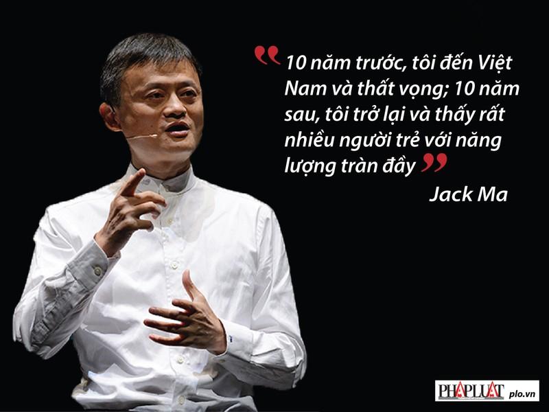 Jack Ma nhắn gửi gì với giới trẻ Việt Nam? - ảnh 1