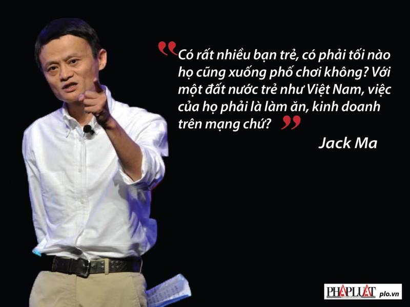 Jack Ma nhắn gửi gì với giới trẻ Việt Nam? - ảnh 2