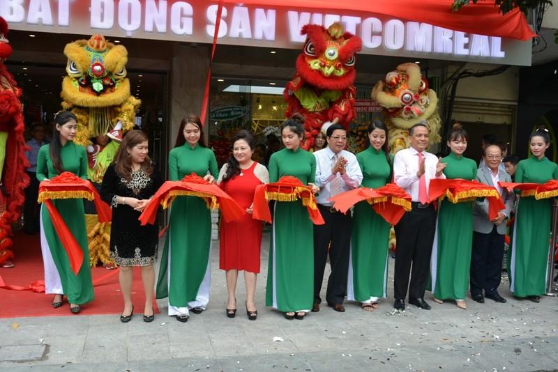 Khai trương trung tâm giao dịch bất động sản Vietcomreal - ảnh 1