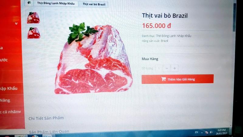 Việt Nam chưa phát hiện thịt bẩn từ Brazil - ảnh 1