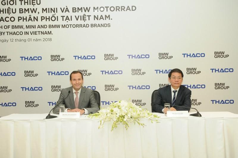 Hãng xe sang BMW bắt tay đại gia ô tô Việt Nam   - ảnh 1