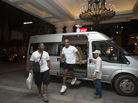 Mike Tyson đã đến TP.HCM - ảnh 1