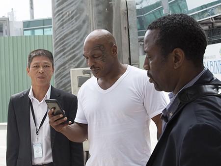 Mike Tyson đã đến TP.HCM - ảnh 4