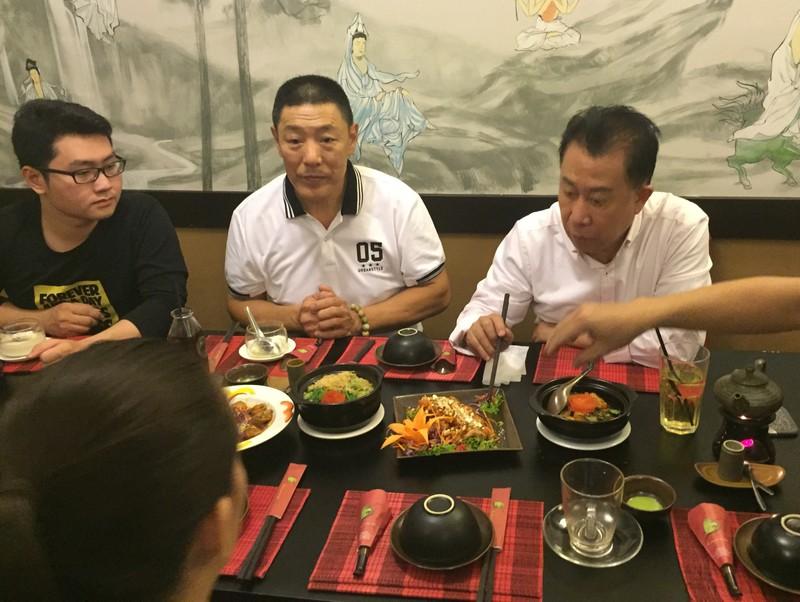 Ẩm thực chay là bí quyết giúp Martin Yan khoẻ mạnh.