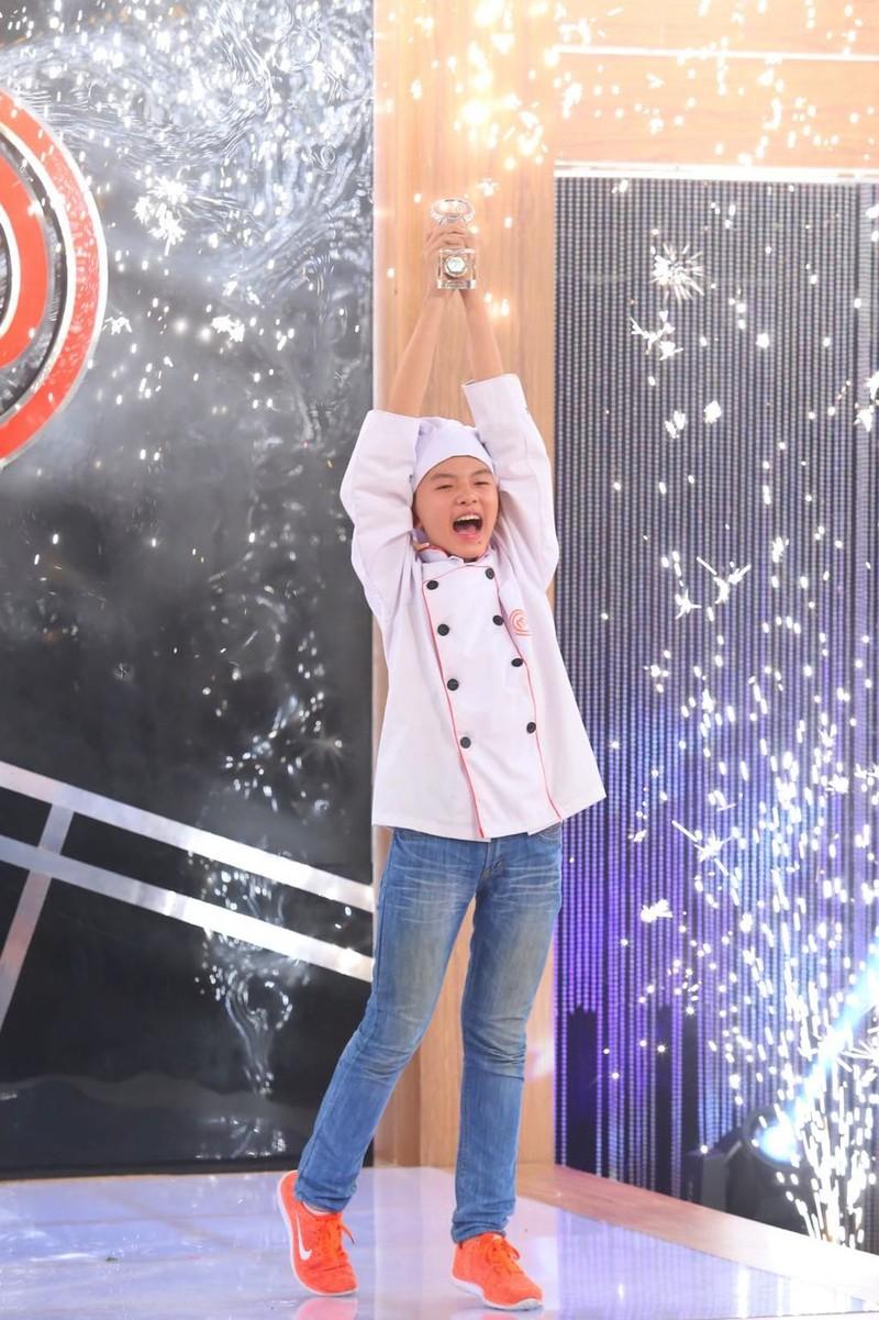 Thanh Hải trở thành Vua đầu bếp nhí mùa đầu tiên - ảnh 1