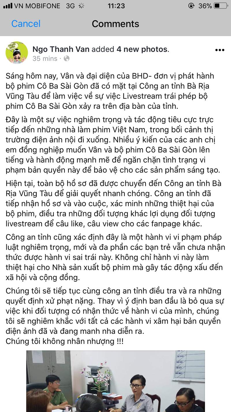 Ngô Thanh Vân đã gặp công an làm việc vụ quay lén phim - ảnh 3