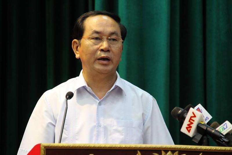 Chương trình hành động của ứng cử viên Trần Đại Quang - ảnh 1