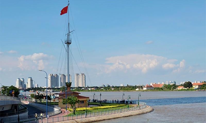 Cột cờ Thủ Ngữ được xếp hạng di tích cấp thành phố - ảnh 1
