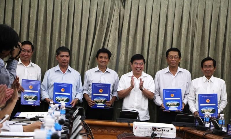 TP.HCM tái bổ nhiệm hàng loạt lãnh đạo sở, ngành - ảnh 1