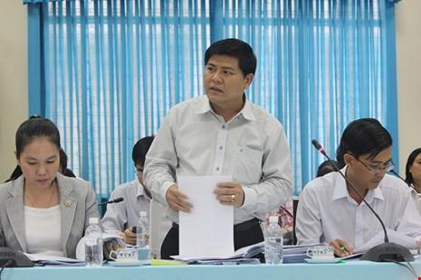 Nguyên chủ tịch huyện Hóc Môn bị kỷ luật cảnh cáo - ảnh 1