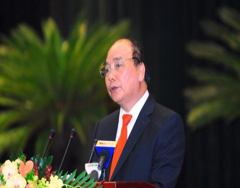 thủ tướng phát biểu tại hội nghị