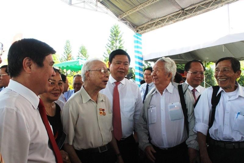 Họp mặt truyền thống chiến khu An Phú Đông - ảnh 2