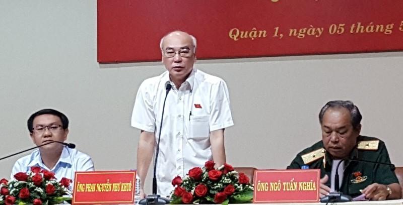 Chủ tịch nước xin vắng buổi tiếp xúc cử tri TP.HCM - ảnh 1