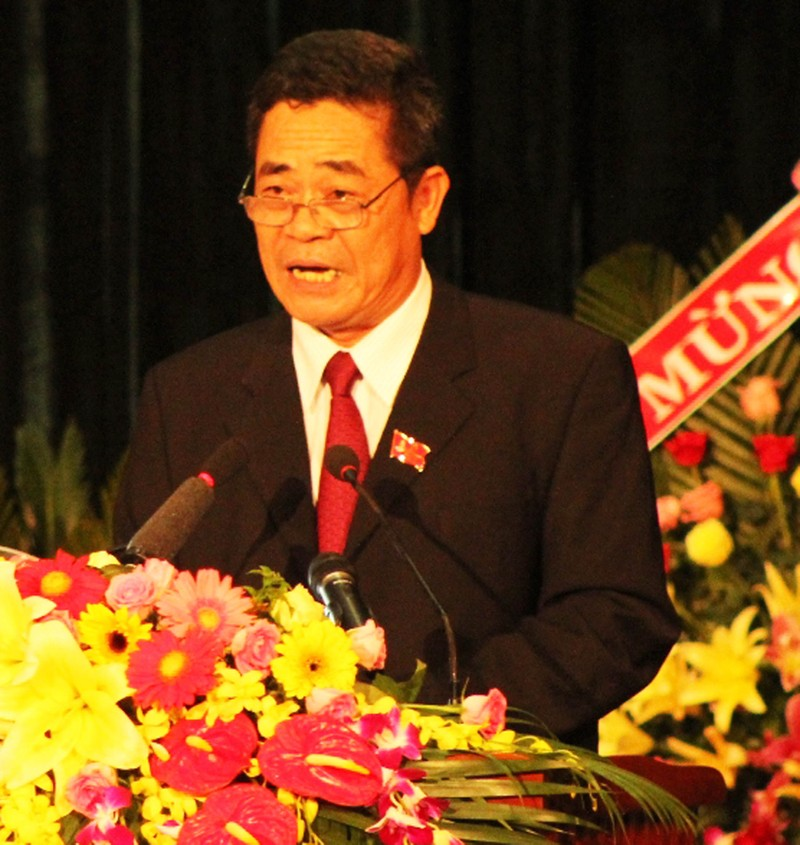 Ông Lê Thanh Quang tái đắc cử Bí thư Tỉnh ủy Khánh Hòa - ảnh 1