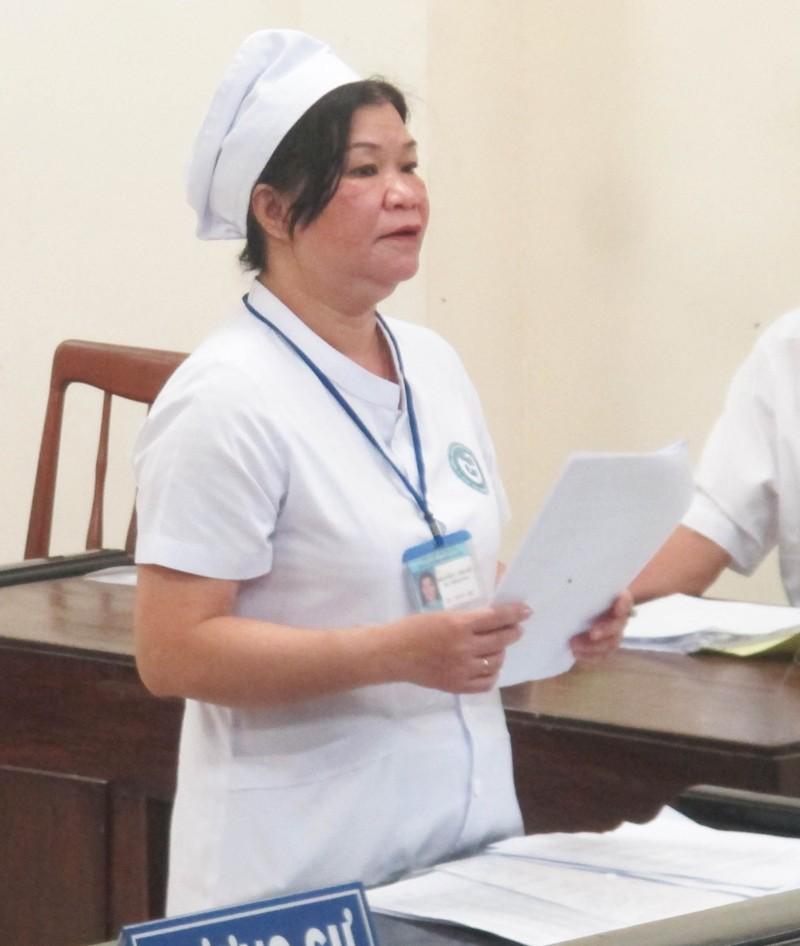 Bác yêu cầu của nữ điều dưỡng kiện giám đốc bệnh viện - ảnh 1