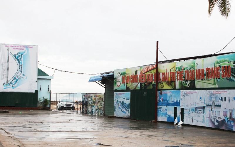 Đóng cửa nhà hàng của dự án lấn vịnh Nha Trang trái phép - ảnh 1