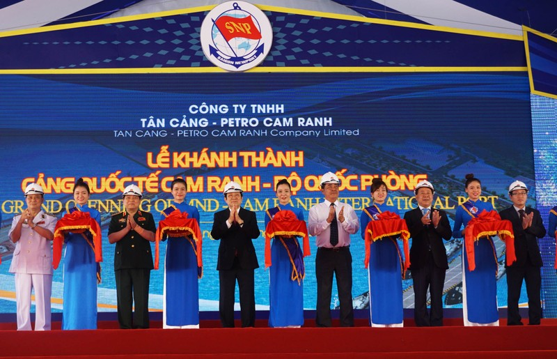 Cảng quốc tế Cam Ranh sẽ tiếp nhận tàu tải trọng 110.000 DWT - ảnh 2