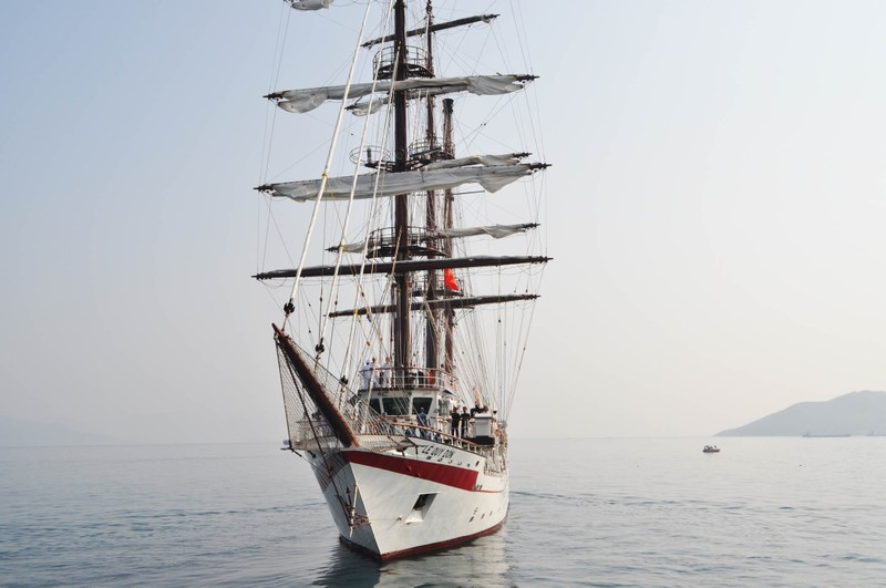 Hải quân Việt Nam đưa tàu buồm hiện đại bậc nhất thế giới vào sử dụng - ảnh 7