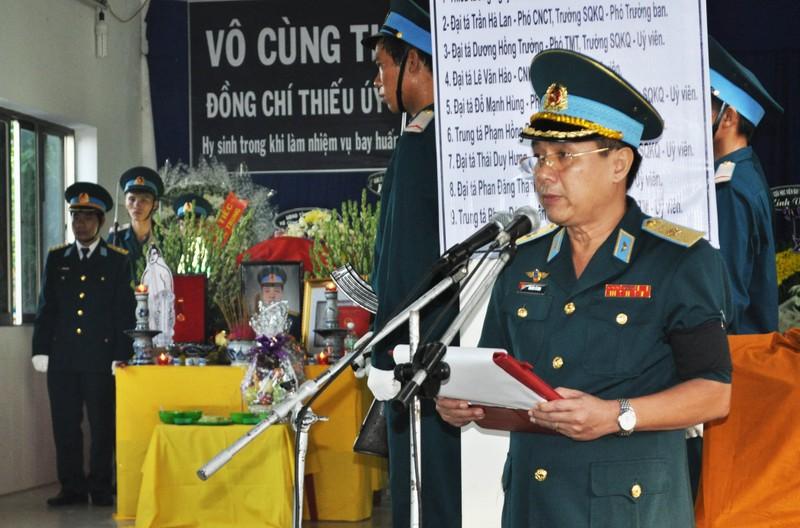 Vĩnh biệt Thiếu úy phi công Phạm Đức Trung - ảnh 1