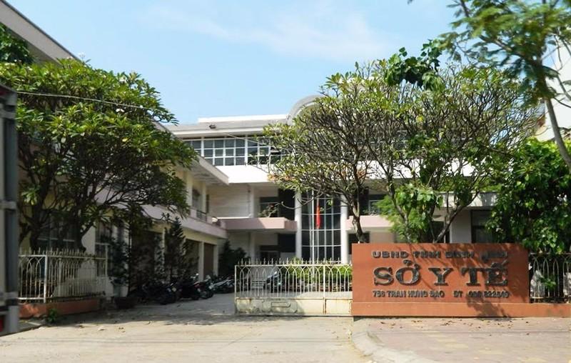 Trụ sở Sở Y tế tỉnh Bình Định