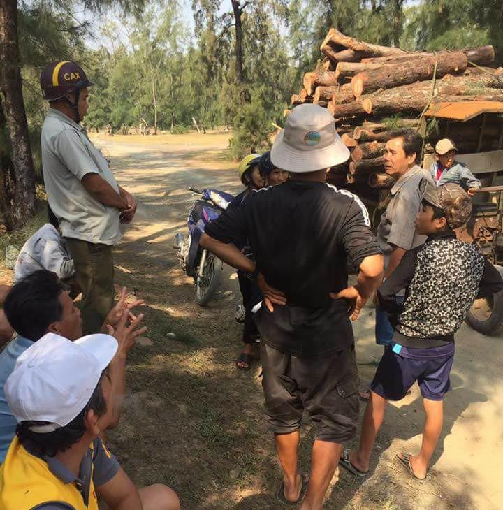 Tuyên dương những người ngăn HTX phá rừng phòng hộ - ảnh 1