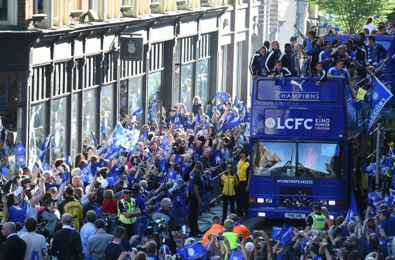 Leicester City hôm nay đến Thái ăn mừng - ảnh 1