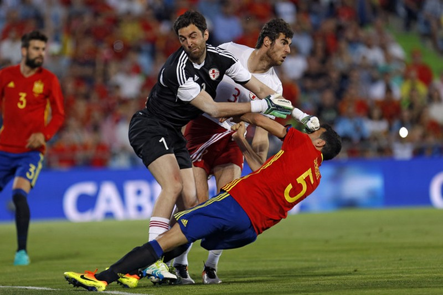 Tây Ban Nha thua sốc Gruzia - ảnh 1