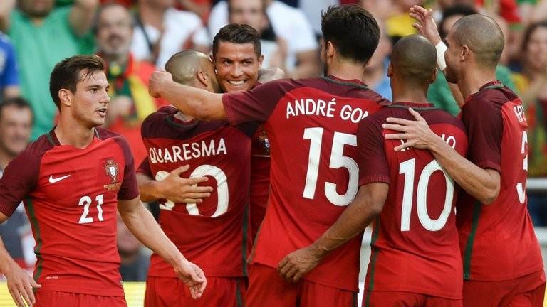 Bồ Đào Nha thắng giòn giã trước khi đến Pháp - ảnh 1