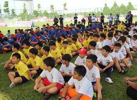 B. Bình Dương tuyển sinh bóng đá trẻ - ảnh 1