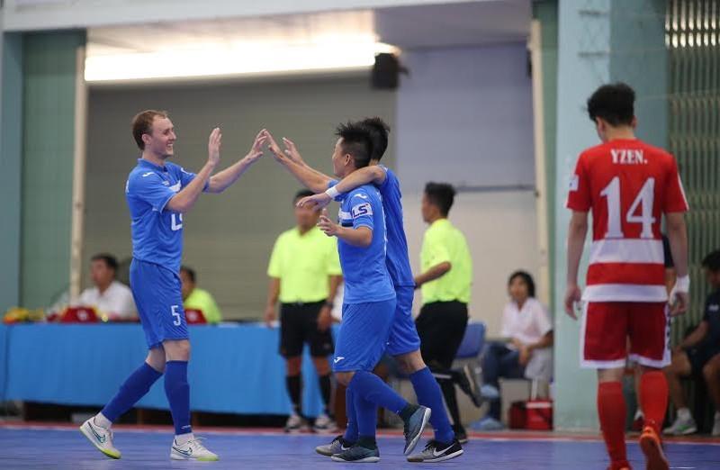 Khai mạc giải Futsal TP.HCM mở rộng: Ngoại binh tạo chất lượng cao - ảnh 4