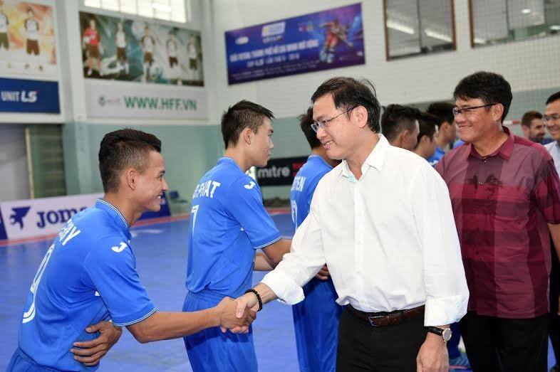 Khai mạc giải Futsal TP.HCM mở rộng: Ngoại binh tạo chất lượng cao - ảnh 1