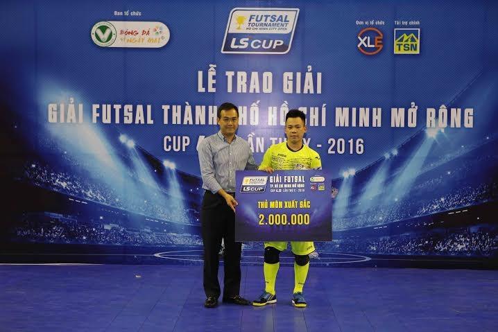 Thái Sơn Bắc vô địch giải futsal TP.HCM mở rộng - ảnh 5